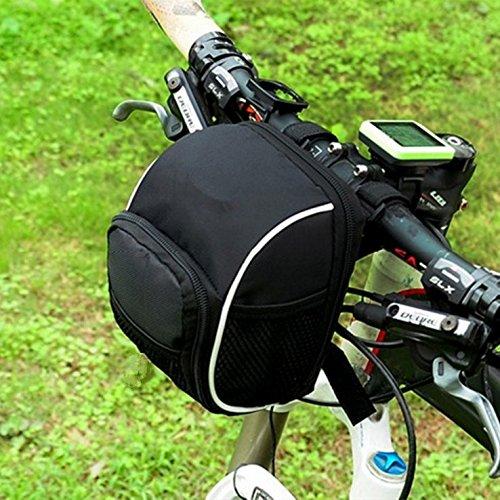 自転車バッグ スケートボード フロントバッグ 折りたたみバッグ バランス 蛇口 パッケージバッグ   B074KVVKC6
