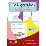 Cuaderno 1 de caligrafia Pauta Montessori: Amazon.es