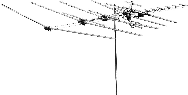 OrangeA Outdoor reforzadas Antena 200 Miles Range reforzadas ...