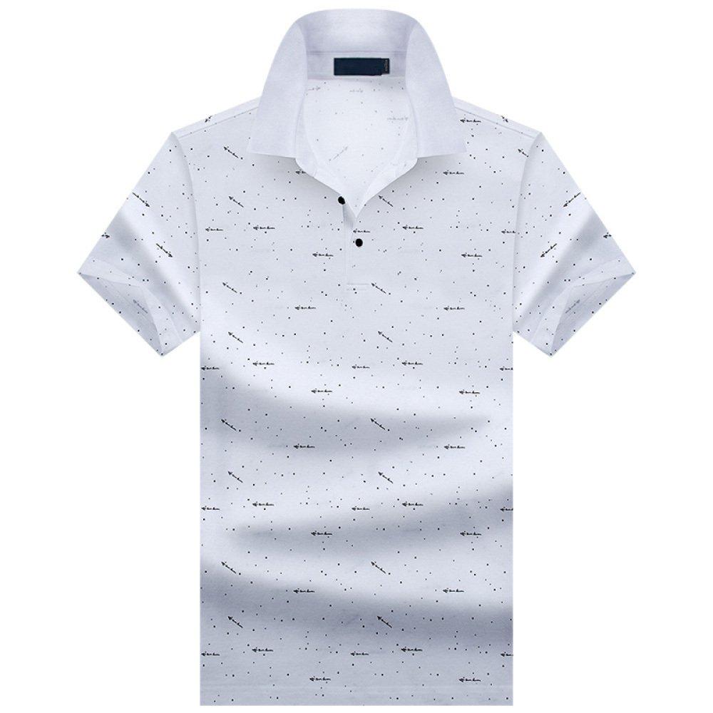 blanc XXL ZAIYI Shit 2 Couleurs Tailles Diverses T-shirt à Manches Courtes En Coton Mercerisé Pour Hommes Décontracté Décontracté