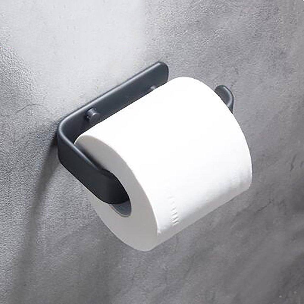 Black Toilet Tray,Restroom Tissues Holder Space Aluminium Shelf Toilet Roll Holder Hotels The Project Toilet Paper Shelf-C