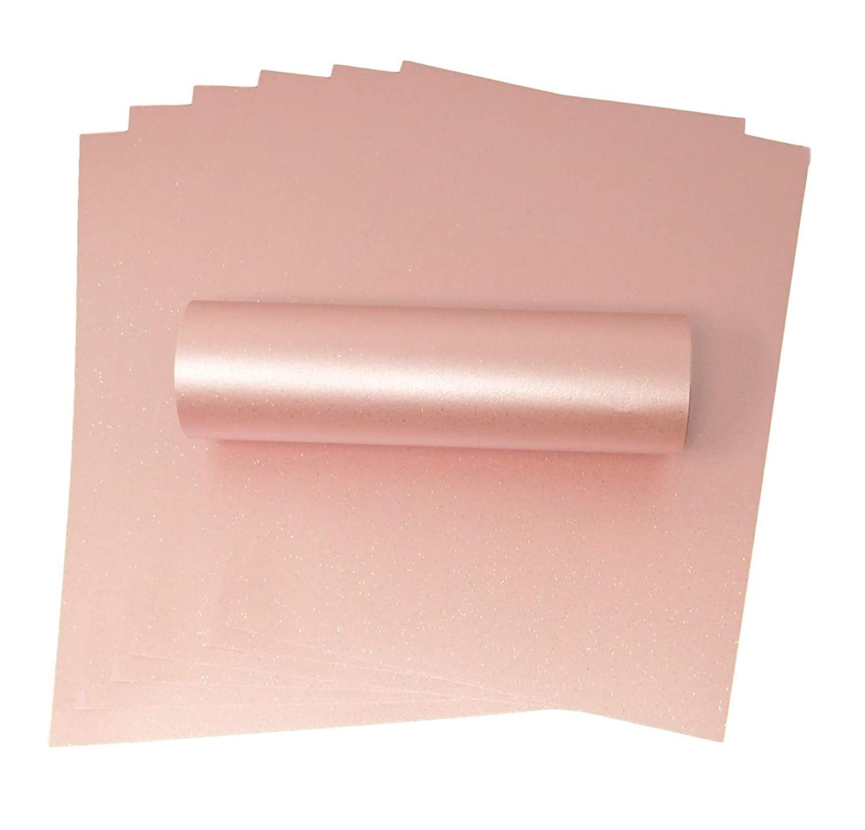 Syntego A4/rosa salmone Iridescent Sparkle di qualit/à per creazioni fai da te di biglietti 300/g//mq