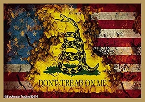 Magnet America Dont Tread On Me Gadsden Decal