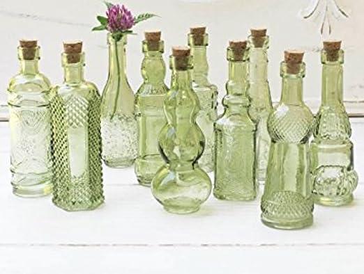 Amazon.com: Botellas de vidrio estilo clásico con ...