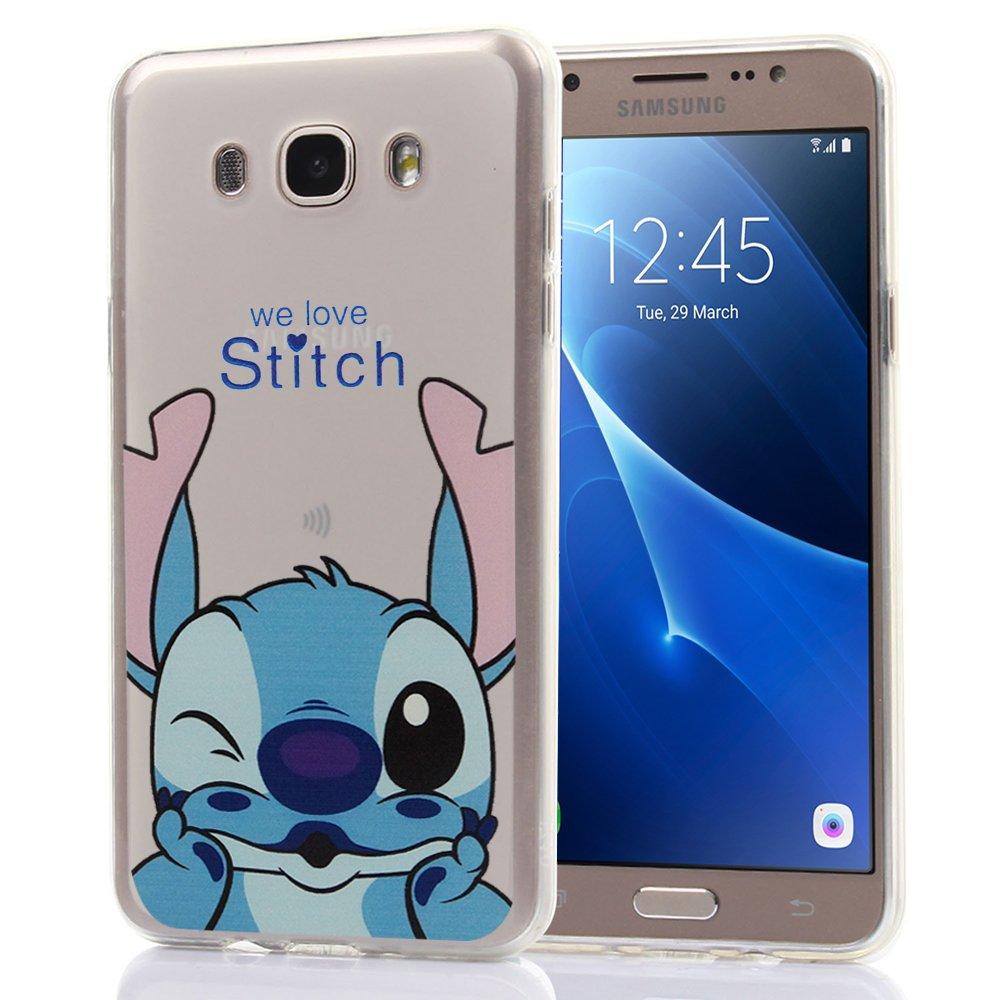 Samsung Galaxy J7 (2016) Caso HCN PHONE Cubierta de silicona ...