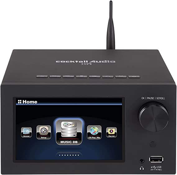 Cocktail Audio X14 All-in-One Audiophile System