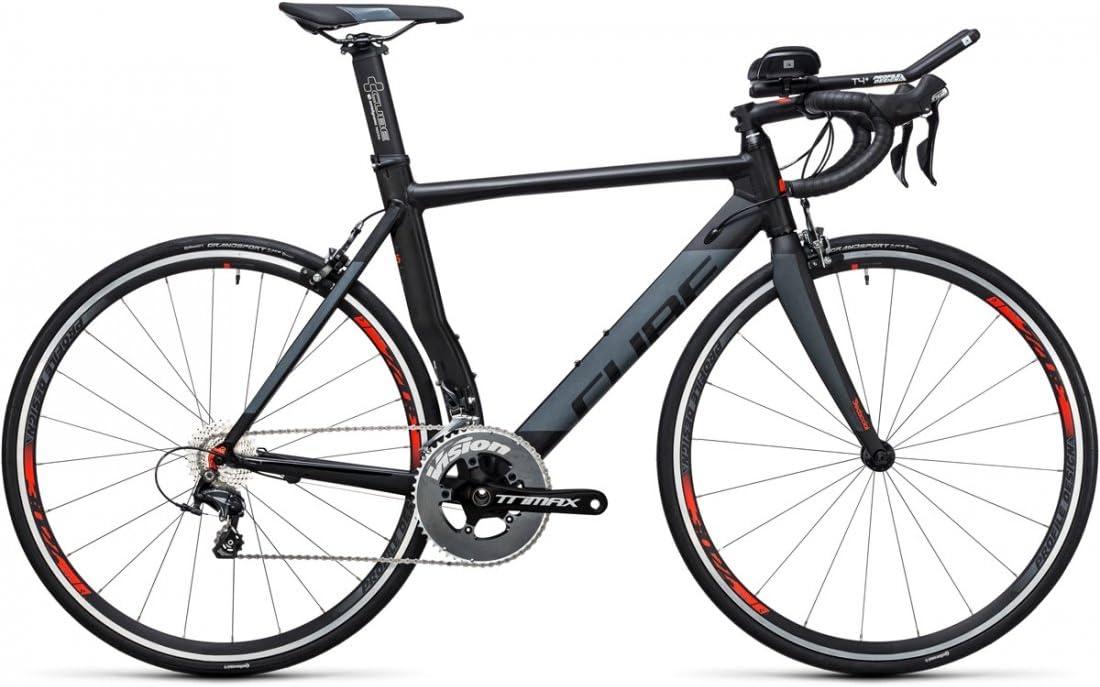 Bicicleta triatlón Cube Aerium HPA Pro Black n Grey 2017 – 52 cm ...