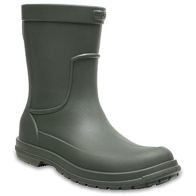 71feb238d29b Crocs All Cast Rain Boots Lightweight Waterproof Molded Carp Fishing Wellies  (6 UK)