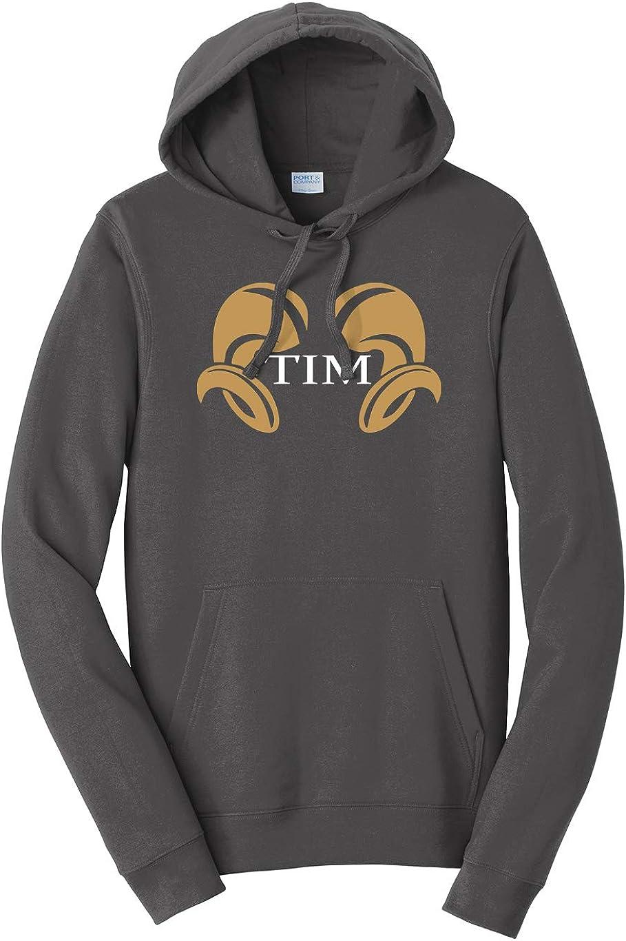 Tenacitee Mens Tim Hooded Sweatshirt