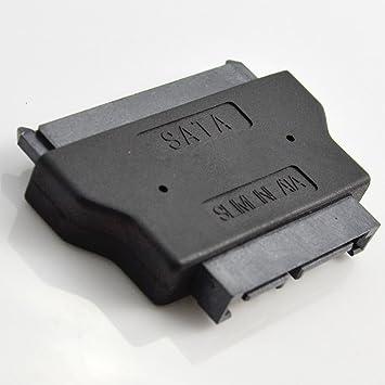 ILS SATA 22 Pin Female to Slimline SATA 13 Pin Male Adapter