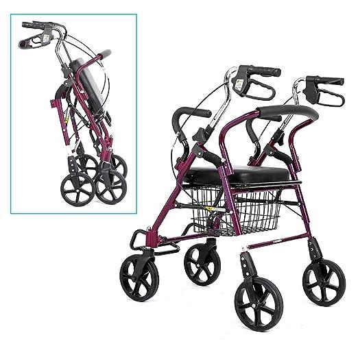 Andador con ruedas for personas de la tercera edad con ...