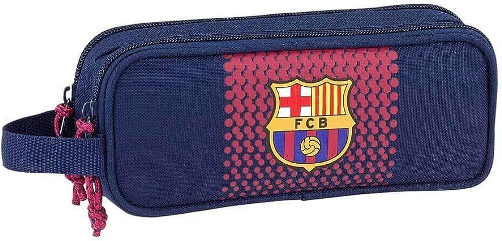 Safta Estuche F.C. Barcelona Corporativa Oficial Escolar 210x60x80mm: Amazon.es: Ropa y accesorios