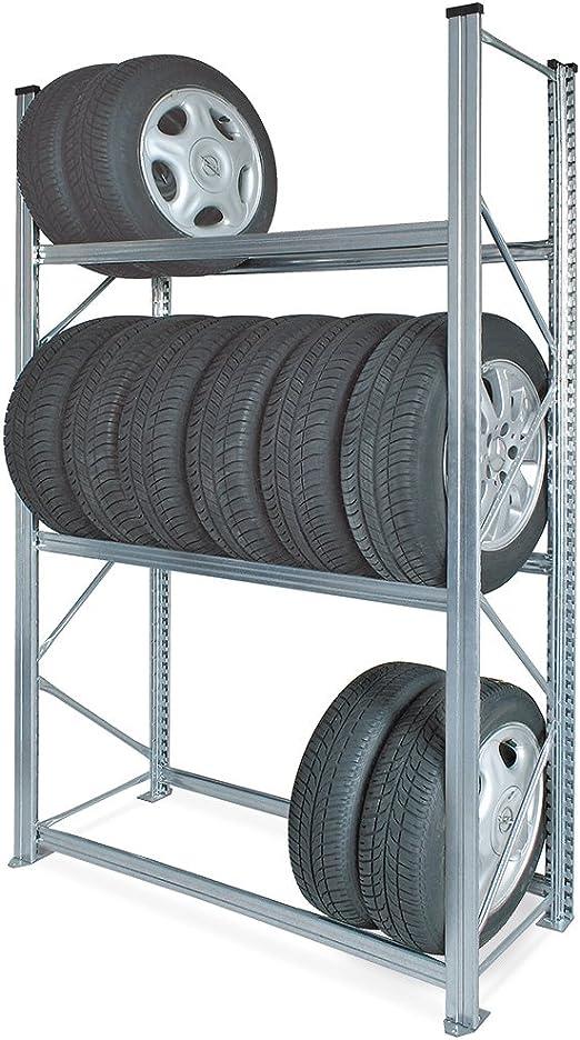 Profi Reifenregal Platz Für Bis Zu 24 Reifen Felgen Regal Reifenlager Auto
