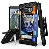 Galaxy Note 8 Case, Trishield Durable Rugged Heavy Duty Phone Cover With Detachable Lanyard Loop Belt Clip Holster And Built in kickstand Card Slot For Note 8 - Solar Planet Galaxy