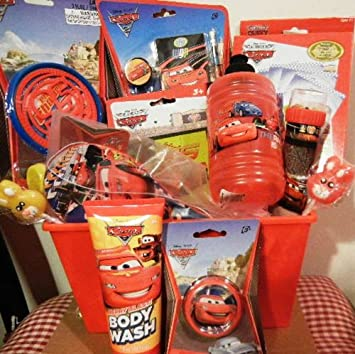 Amazon disney cars easter basket basket for boys this is a disney cars easter basket basket for boys this is a nice disney pixar cars negle Image collections