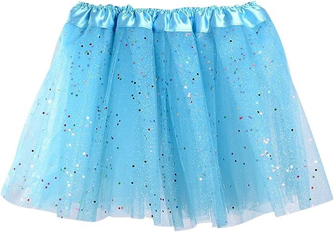Faldas de Tul Falda Tutu Niña Falda Tul Capas Niñas Disfraces Con ...