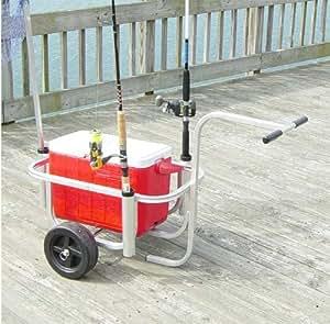 Economy fishing cart fishing equipment for Amazon fishing gear