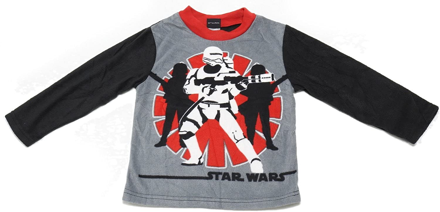 Black//Multi AME Star Wars Boys Size X-Small 4 Pajama Top