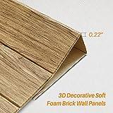 Masione 3D Self-Adhesive Wall Panels Faux Foam