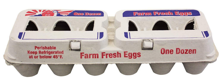 Harris Farms Farm Fresh XL Egg Carton - 25 pack
