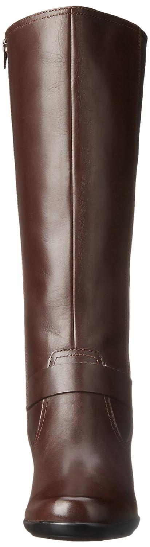 CLARKS Women's B00UCW7Q08 Malia Willo Riding Boot B00UCW7Q08 Women's 9.5 B(M) US|Brown Leather 321bbd