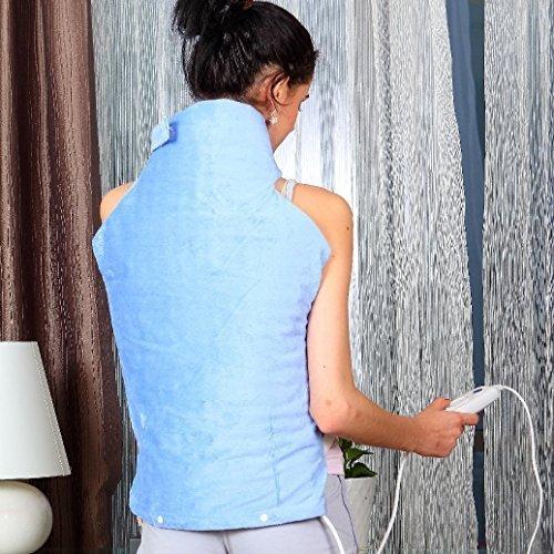 Syntrox Germany XXL Extra Breites 100 Watt 6 Wärmestufen Heizkissen Heizdecke für Rücken, Nacken und Schulter Wärmekissen, Wärmedecke. Gibt es einen noch besseren Rückenwärmer zu kaufen?