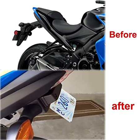 Suzuki GSXS1000 GSXS 1000 2015-2020 1000F 1000Z Fender Eliminator OEM Plate Light /& 2 Turn Signals