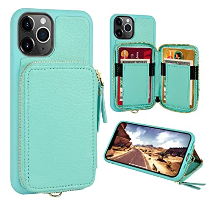 Amazon.com: Funda tipo cartera para iPhone 11 Pro, funda ...