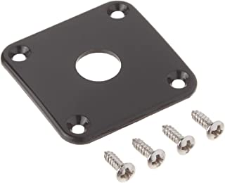 product image for Gibson Gear PRJP-010 Jack Plate, Black Plastic