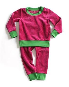 Velours Framboisevert Melocoton Pièces En De Pyjama 80 74 Mundo 2 HfqvYdw