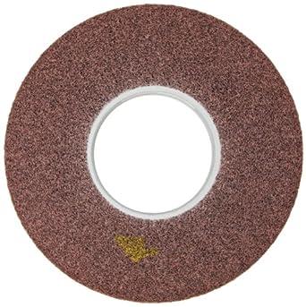 "Scotch-Brite Satin Web 4/"" by 2 Section Medium Metal Sanding Wheel"