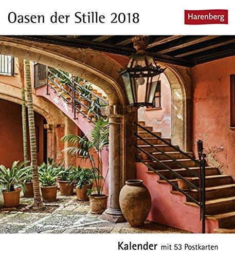 Oasen der Stille - Kalender 2018: Kalender mit 53 Postkarten