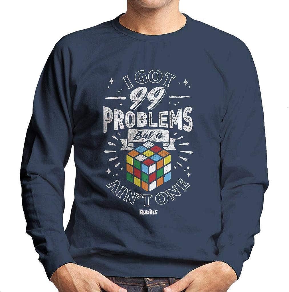 Rubiks 99 Problems But A Cube Aint One Mens Sweatshirt