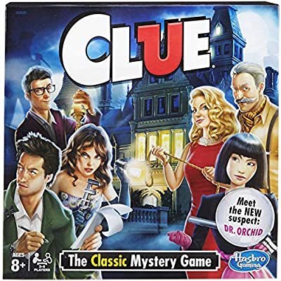 Hasbro Clue Board Game - The Classic Mystery: Toys & Games