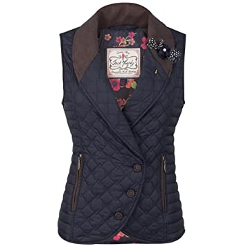 Jack Murphy Womens Ladies Quilted Gilet Body Warmer Padded Vest Waistcoat New