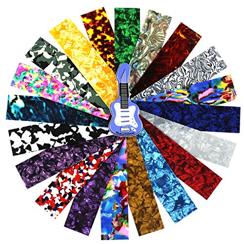 Make Your Own Guitar Pick (Pick-a-Palooza Guitar Pick Pack Custom Strips For Your Guitar Pick Maker - Great Variety Of Strips For Making Guitar Picks With Any Pick Punch -)