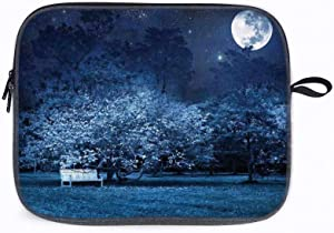 """Fantasy House Surreal Moon 13"""" Laptop Sleeve Bag Compatible with MacBook Pro,MacBook Air,Notebook Co"""