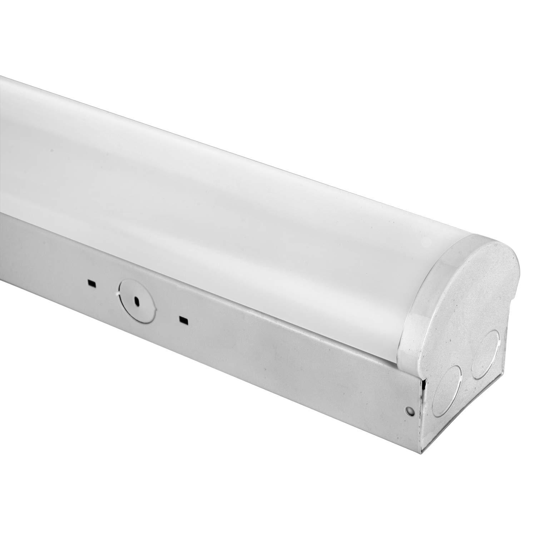 1000led 4ft led strip linear light 40w 5000k 5 200lm ac110 277v