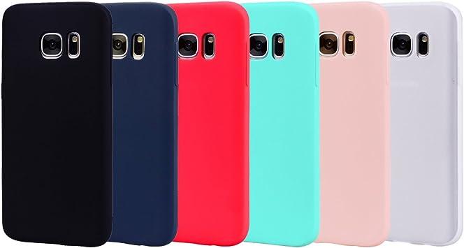 Leton 6X Funda para Samsung Galaxy S7 Edge Silicona Ultrafina Case ...