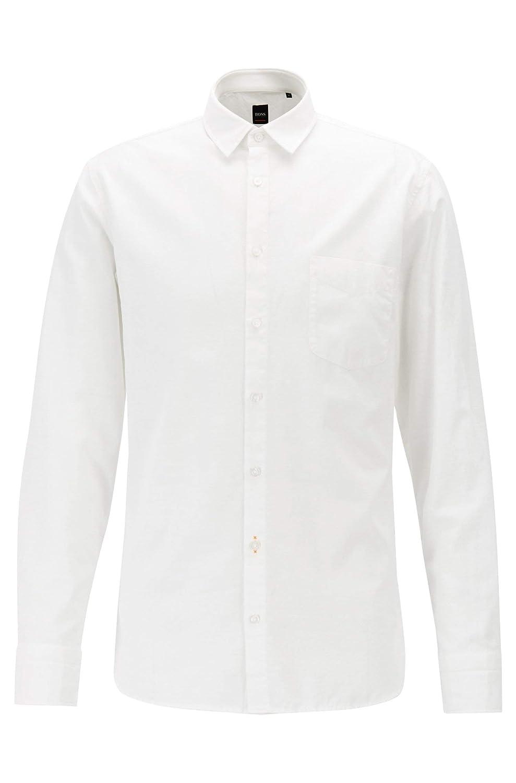 Boss Men Casual 50403725 Magenton/_1 Cotton Shirt