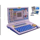 VOODANIA Deals Power Educational Laptop for 20 Fun Activities Enhanced Skills of Children for Boys and Girls (Blue)