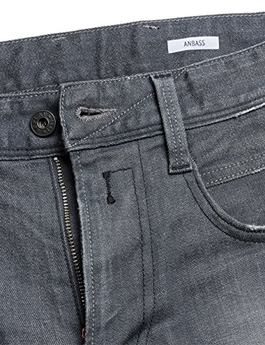 grey Replay Uomo Anbass Denim Grigio Jeans vqg6Agfw