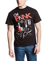 CM Punk GTS Mural WWE Mens T-shirt