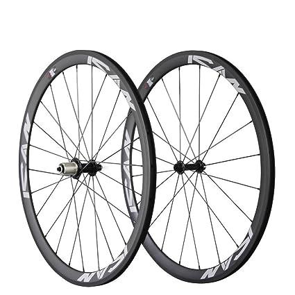 Carbon Road Bike Amazon Com >> Amazon Com Ican Carbon Road Bike 700c Wheels Clincher 38mm Rim