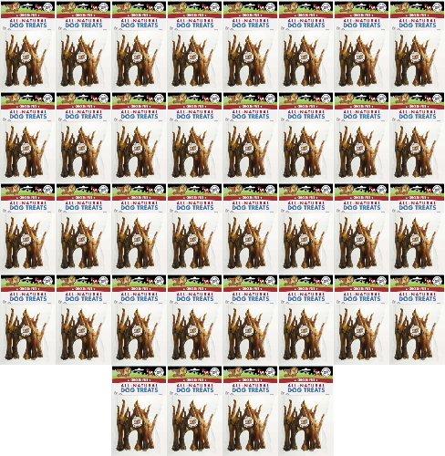 Pet 'n Shape Chicken Feet All Natural Dog Chewz 180pk (36 x 5pk)