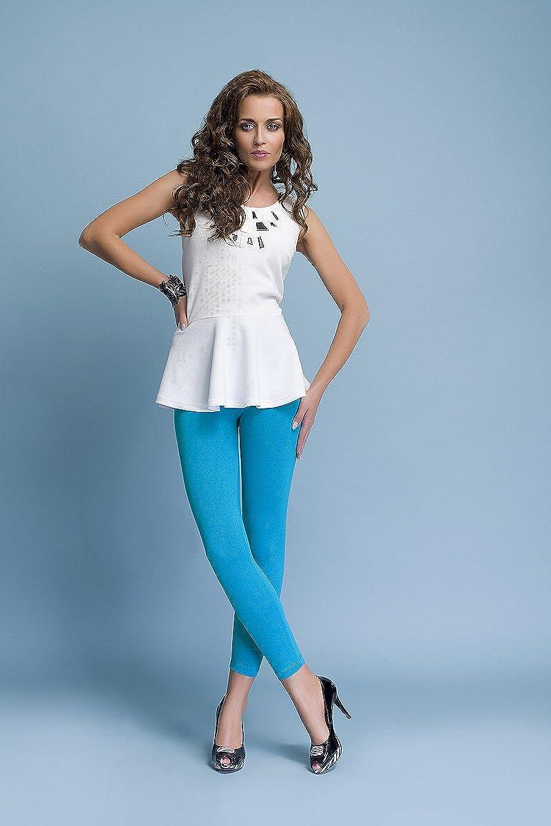 infatti Da Donna Pantacollant Lungo Di Cotone Vita Alta Opaco Basic Leggings Molti Colori Molte Dimensioni 36 38 40 42 44 46