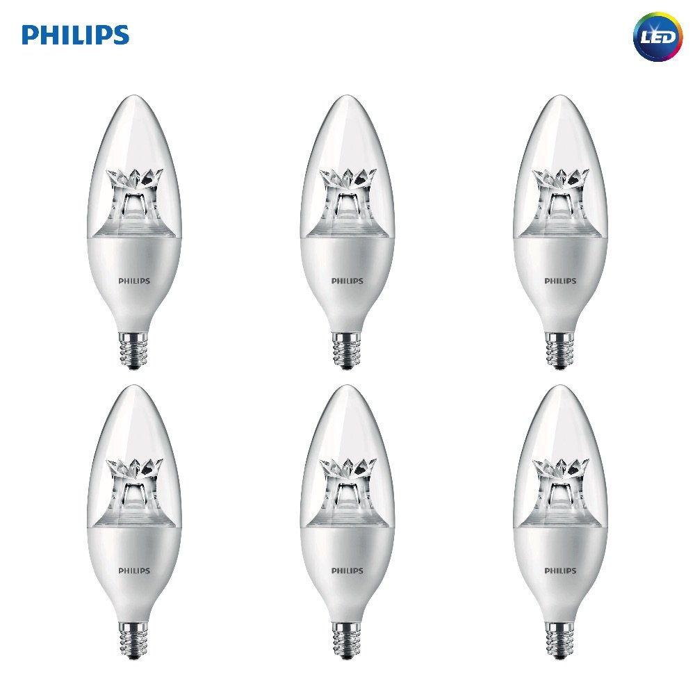 Amazon.com: Philips - Bombilla LED regulable de luz blanca ...