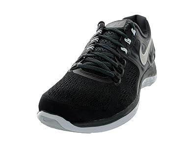 sale retailer 345bf 4e45d Nike Men s Lunareclipse 4 Black Rflct Slvr Pr Pltnm Anthracite Running Shoe  8