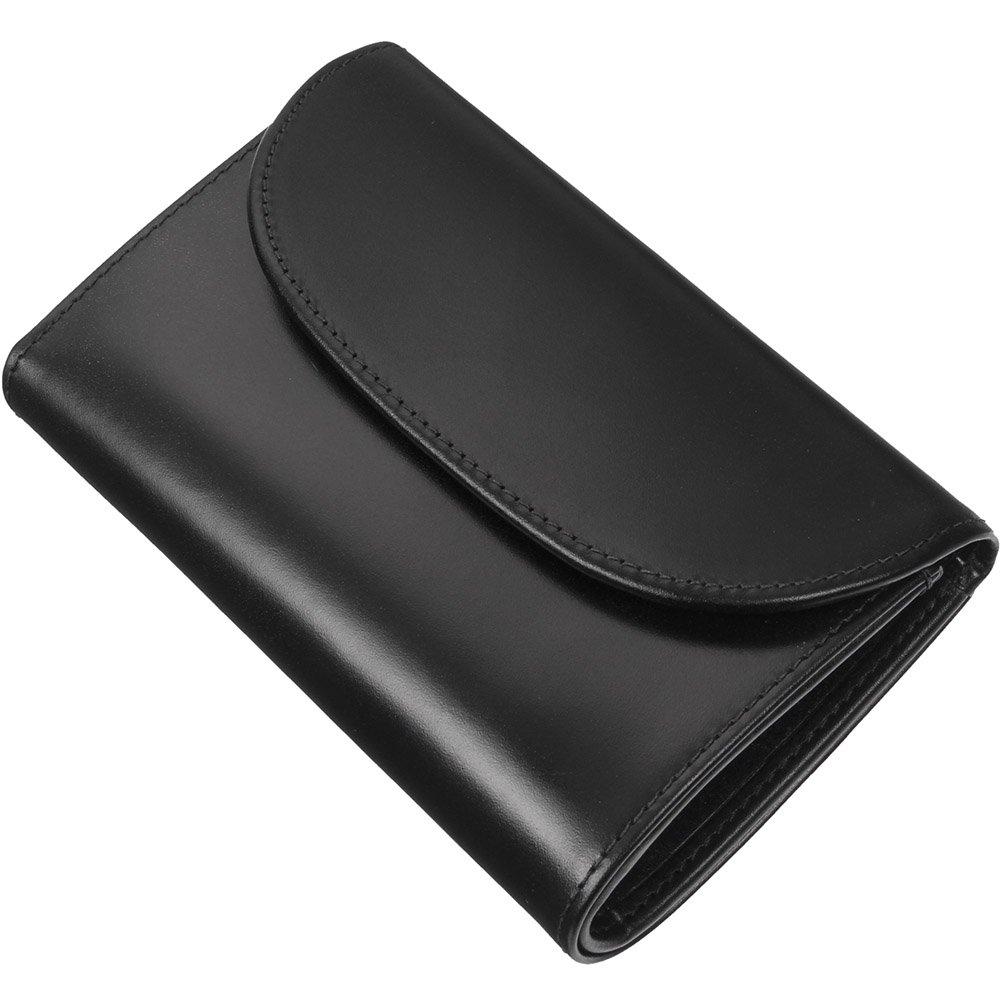 ホワイトハウスコックス(Whitehouse Cox) S7660 三つ折り財布 【正規販売店】 B013B96VFE ブラック ブラック
