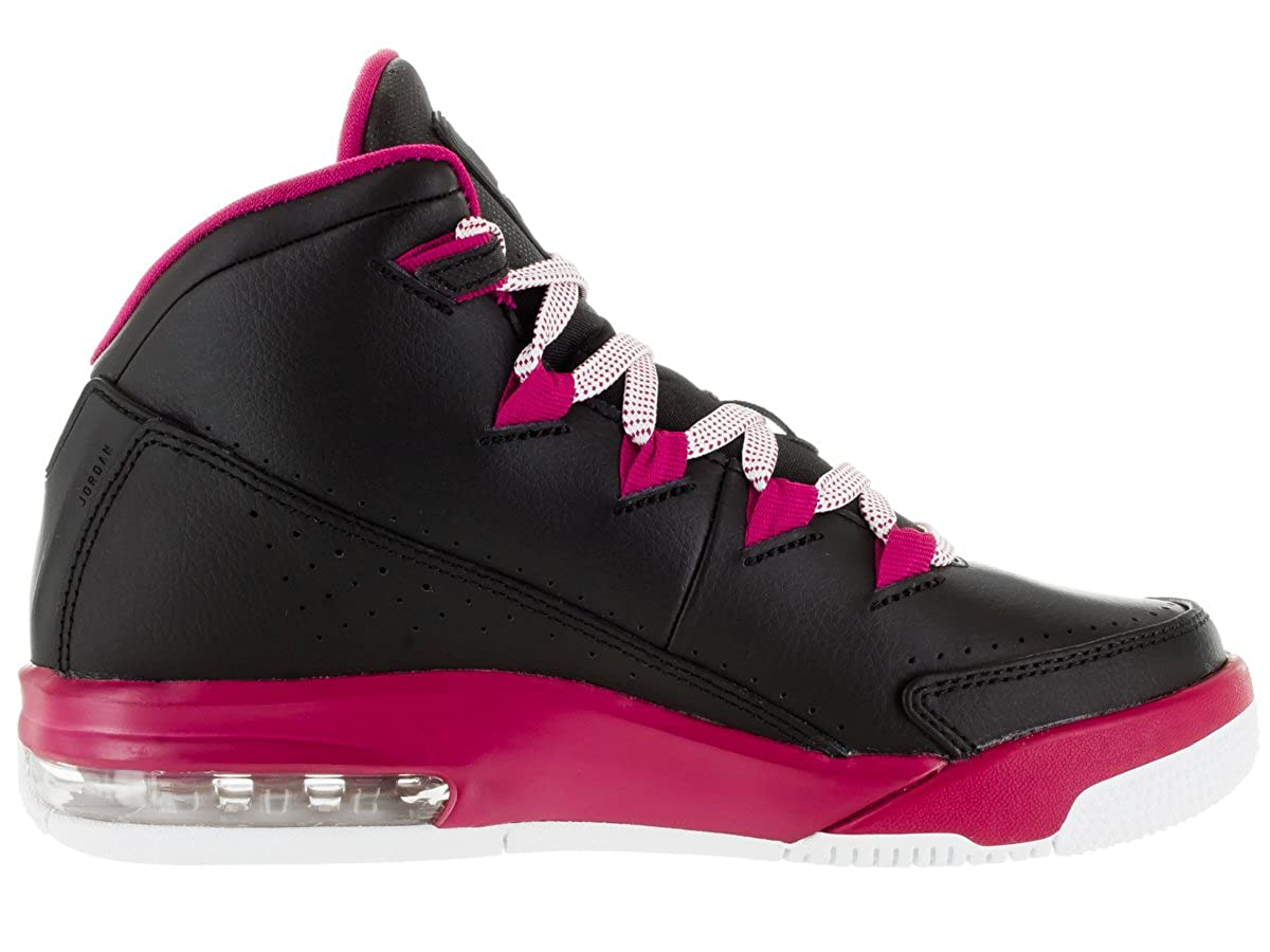 NIKE Jordan AIR Deluxe GG Girls Basketball-Shoes 807714-009 8Y -  Black Sport Fuchsia White  Amazon.co.uk  Shoes   Bags b59e876a3